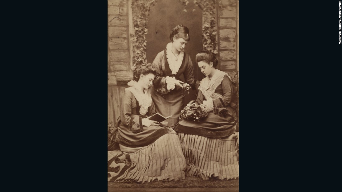 """""""Hans Krauss is almost certainly one of the finest 19th century photography dealers in the world. He's at the fair for the first time this year and we're delighted that he's brought some rare photographs of the Lidell sisters."""""""
