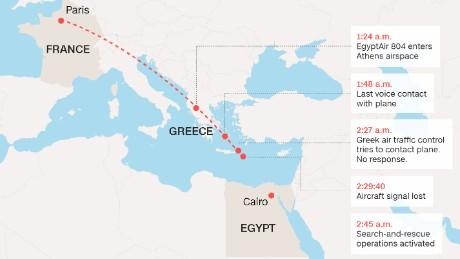 EgyptAir VP: We were wrong, plane wreckage not found