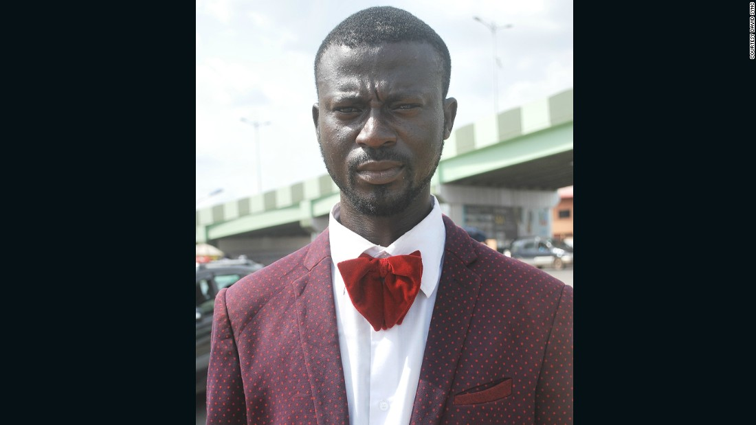 Olatoyan was offered a job via Instagram after pictures of him was posted on the site. 'Style Doctor' will be his new job title at menswear label OUCH based in Nigeria. He will be advising the countries men on how to dress flamboyantly.