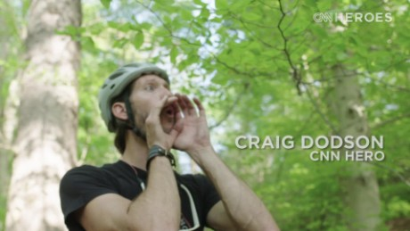 CNN Hero Craig Dodson: Riding through the pain