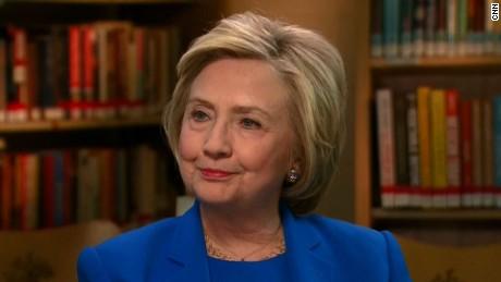 Hillary Clinton Bernie Sanders nominee cuomo intv_00000000