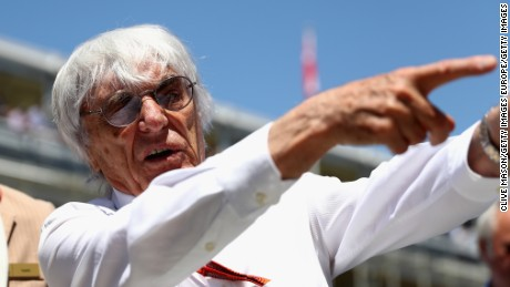F1 boss Bernie Ecclestone has been critical of the dominance enjoyed by the Mercedes team.