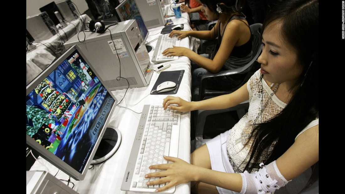 "In Korea, a ""PC Bang"" -- where young gamers gather to play and ""train"" -- can be located on almost every block."