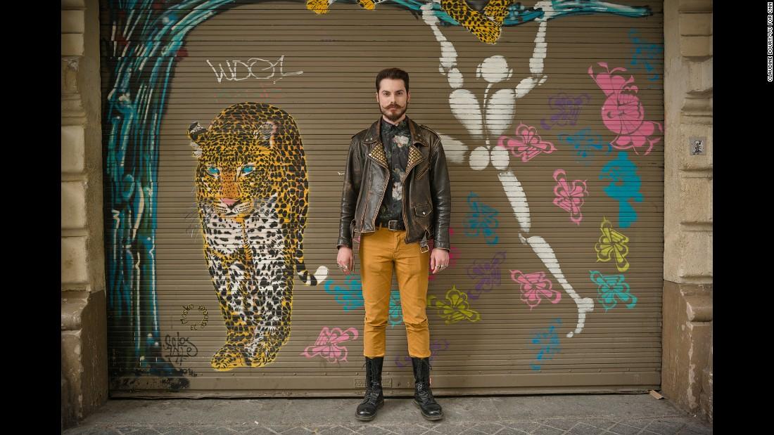 Nicolas, 27, fashion graduate and chocolate vendor.