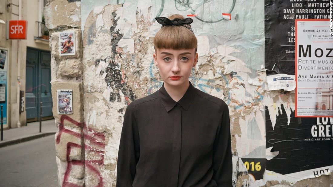Emilie, 21, sales assistant.