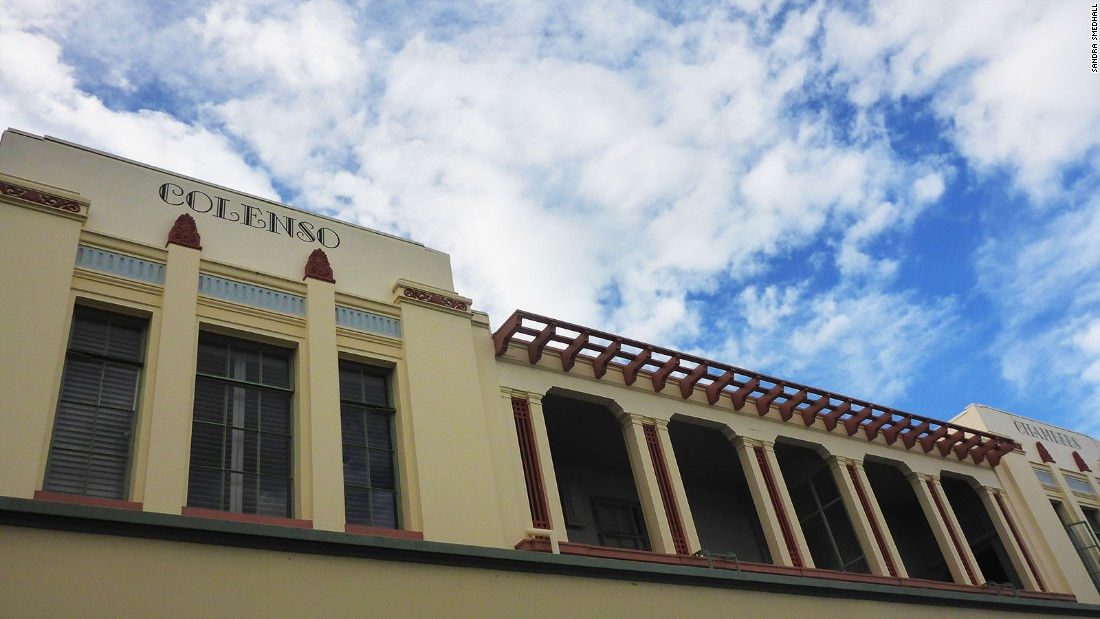 After the earthquake, Napier's architects chose to adopt the Art Deco style because it was fashionable and its simplicity and clean lines suited the holistic, safety-focused approach the rebuild required.