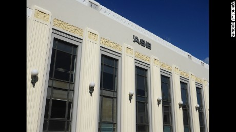 The ASB building, Napier, New Zealand.