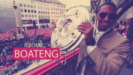 Jerome Boateng's quick-fire questions