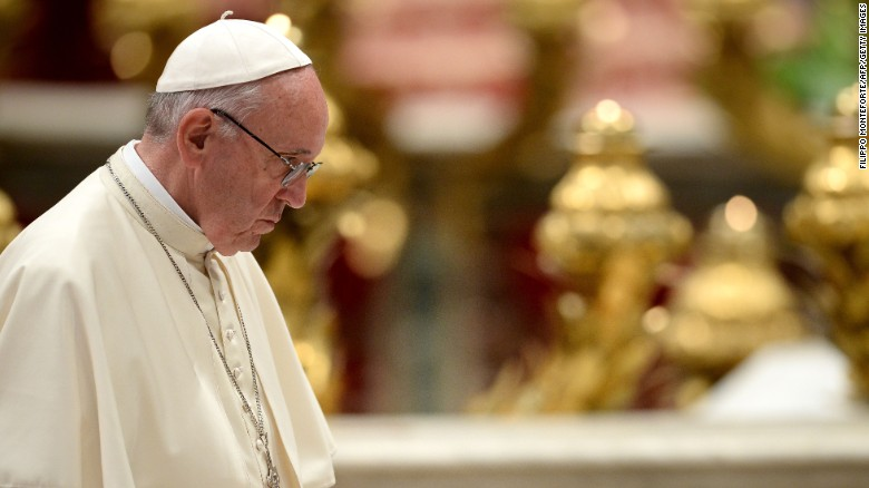 Pope Francis: Apologize to gay people and others