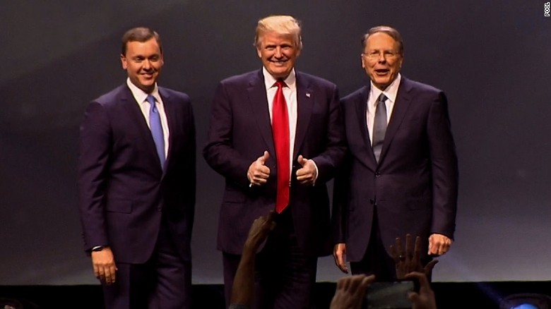 Donald Trump to NRA: I will not let you down