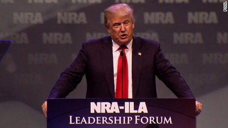 Trump, do black lives matter more than the NRA?