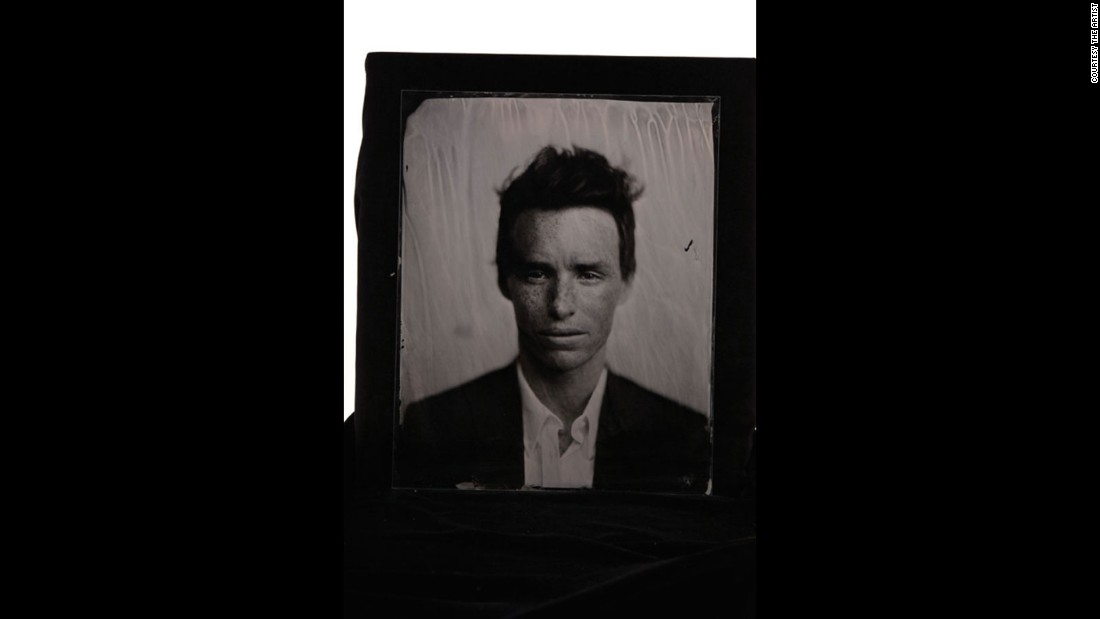 As part of their 2010-2013 project Reflecting The Bright Lights -- a glass portrait series on the emerging stars of the arts, fashion and music world -- the artists captured talents Eddie Redmayne, Alice Dellal, Jaimie Winston and Oliver Sim (the XX) before they rose to fame.