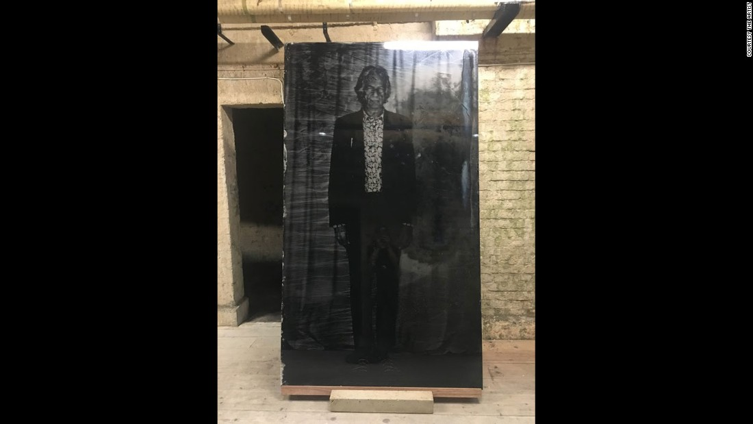"Pictured here, the creation of the world's largest Tintype image signifies the launch of The Untouched, a larger series in partnership with the <a href=""https://www.vam.ac.uk/"" target=""_blank"">V&A</a> and <a href=""http://gazelliarthouse.com/"" target=""_blank"">Gazelli Art House</a> looking at some of Britain's most loved and revered icons."