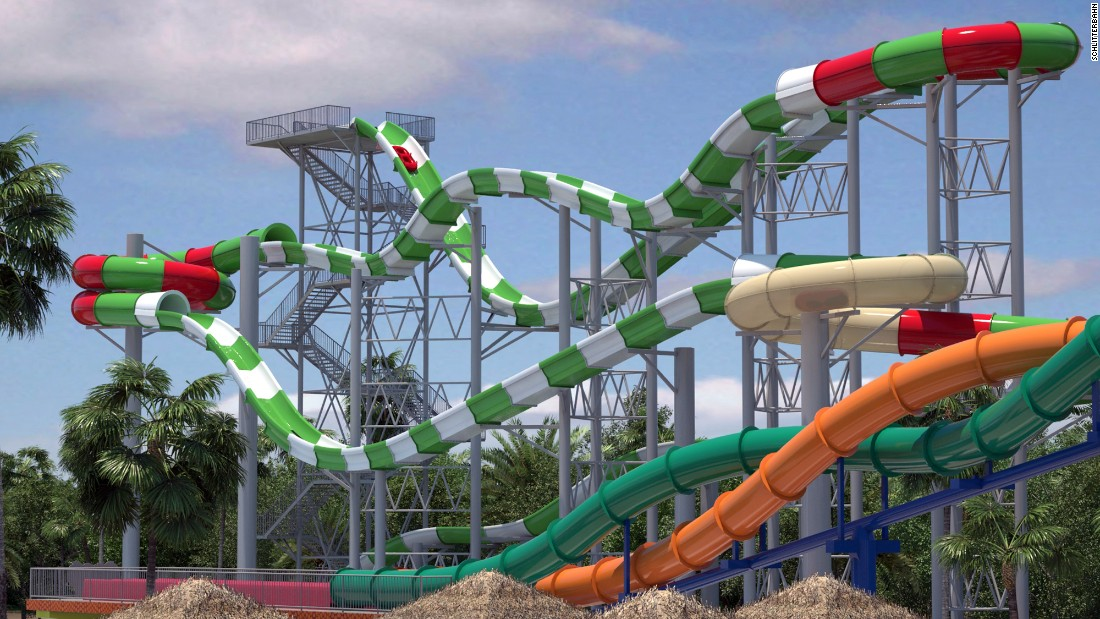 "Never mind that <a href=""http://www.schlitterbahn.com/galveston"" target=""_blank"">Massiv,</a> the newest water coaster at Schlitterbahn Waterpark's Galveston location, isn't technically a roller coaster. When it opens, it'll be the tallest water coaster in the world, the park says. (It won't say how tall, yet.) Grab a tube and slide."
