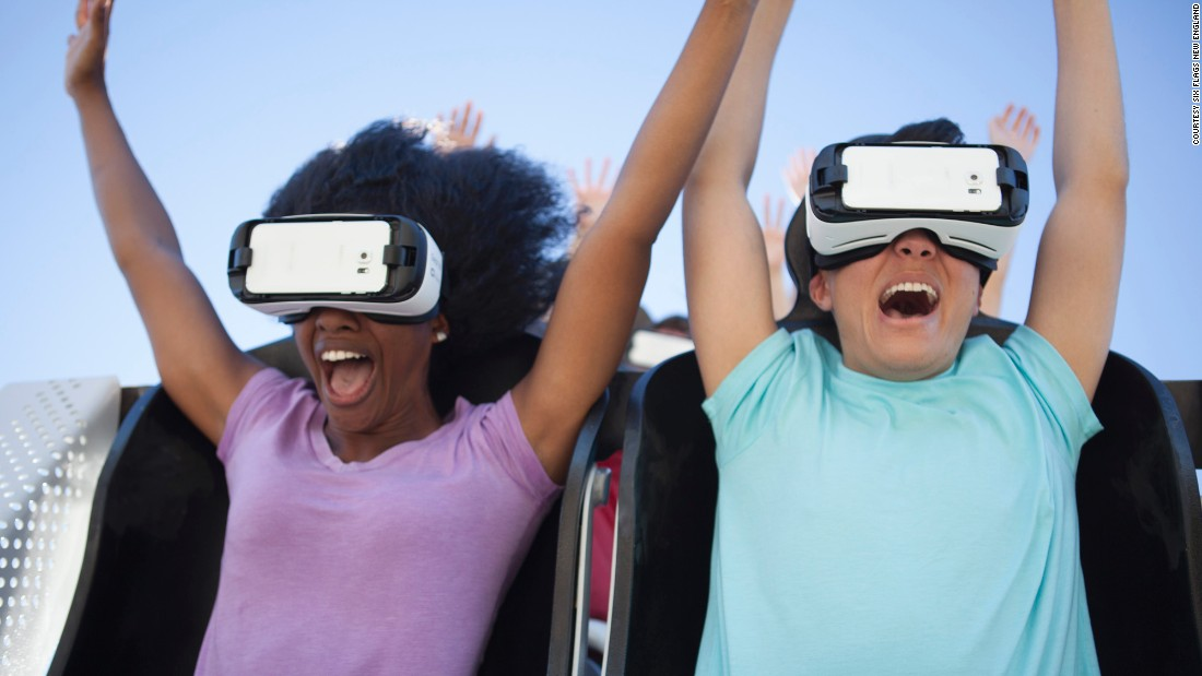 "Virtual reality will make guests feel like Superman in <a href=""https://www.sixflags.com/newengland"" target=""_blank"">Superman the Ride,</a> flying 20 stories into the air and dropping at 77 miles per hour, at Six Flags New England."