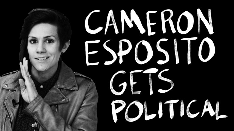 Comedian Cameron Esposito on gay rights and Hillary Clinton