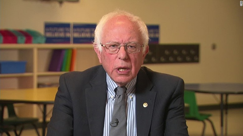 Sanders: If I'm elected, DNC leader would be out