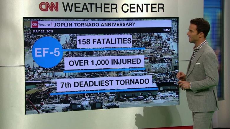 Anniversary of Joplin, Missouri, tornado