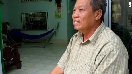Ret. Sergeant Major Nguyen Van Can.