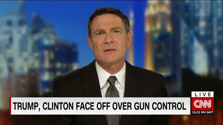 The debate over gun control takes center-stage
