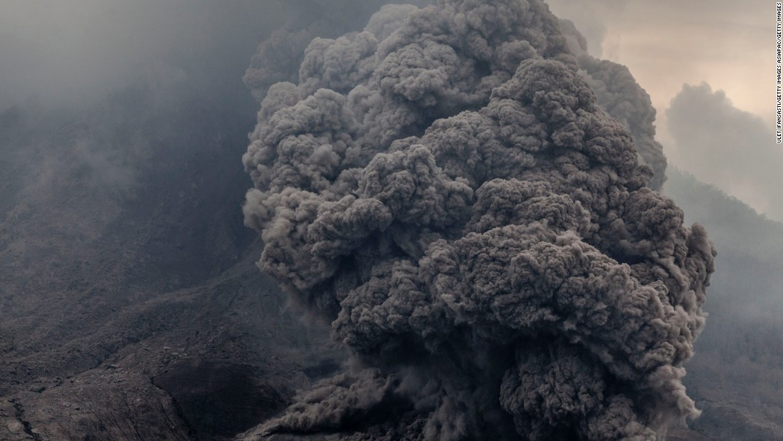 The area remains on the highest alert, and more eruptions are likely. The volcano has long been active, spewing smoke intermittently, as seen in June 2015.