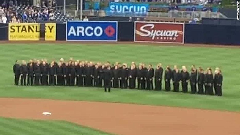 MLB team under fire over national anthem mixup