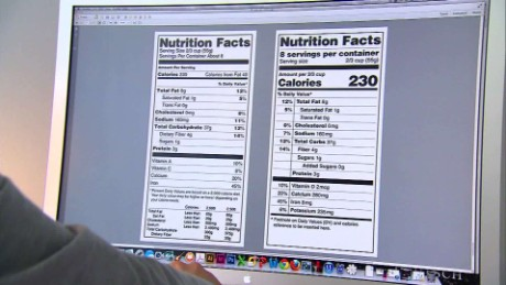 The man behind FDA's new Nutrition Label