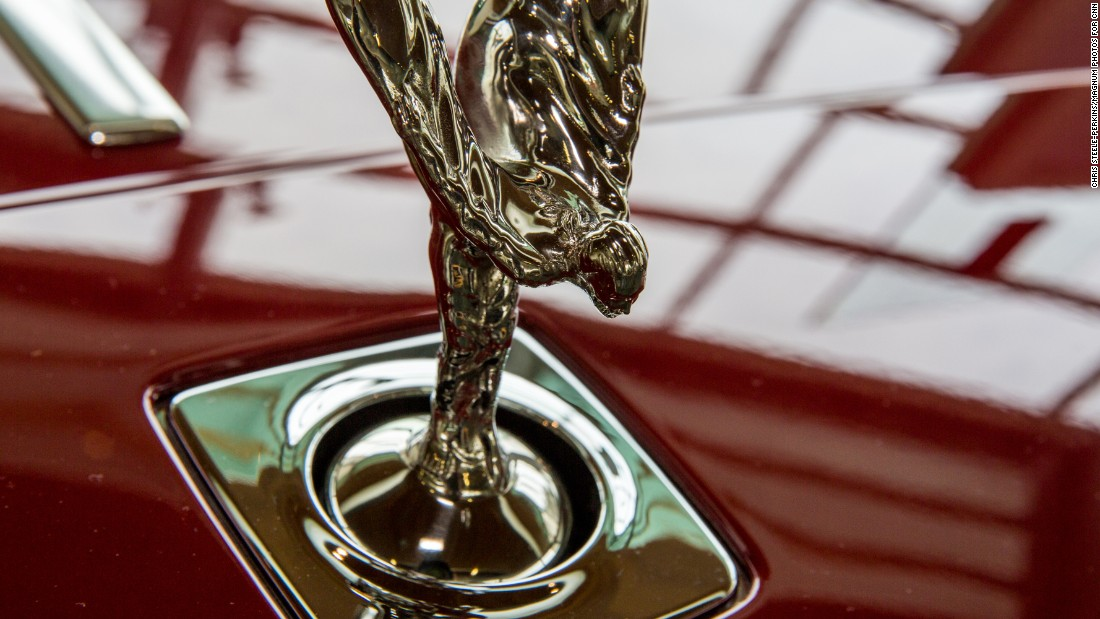 Every component -- winged mascot -- is repeatedly polished by hand throughout the construction process.
