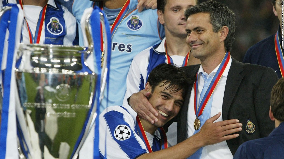 Monaco reached the Champions League final in 2004 but were beaten 3-0 by Porto, then coached by Jose Mourinho.