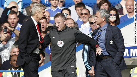 "Mourinho will also renew his rivalry with Arsenal manger Arsene Wenger next season. He previously branded the Frenchman a ""specialist in failure"" for Arsenal's now-twelve-year wait for an English Premier League title win, and a ""voyeur"" for his apparent obsession with Chelsea's spending and success."