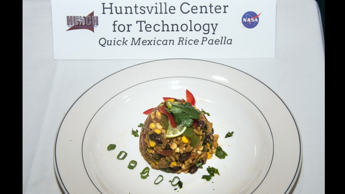 The team at the Huntsville Center for Technology made quick Mexican rice paella, which came in third. Click through for images of the other dishes in the top 10.