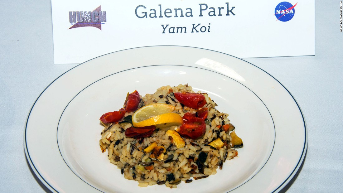 The Galena Park team made yam koi.