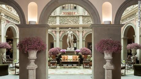 Four Seasons Florence: Unabashed opulence.