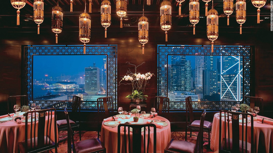 The Mandarin is consistently regarded as one of the world's best hotels. It has a whopping 10 new restaurants, including the two Michelin-starred Pierre and one-Michelin-starred Mandarin Grill.