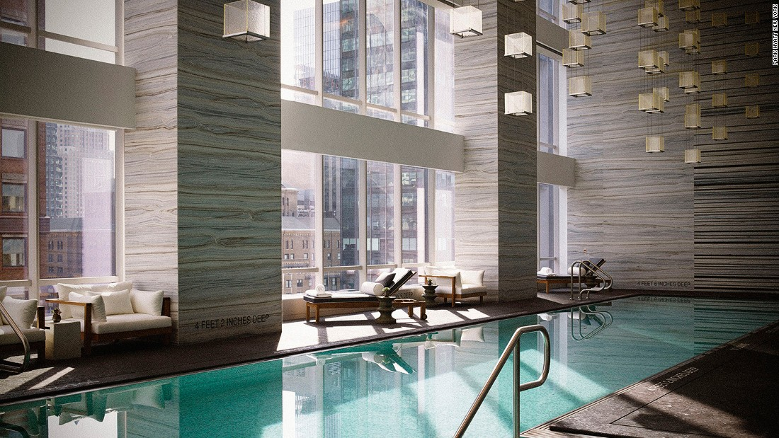 The Hyatt's 210 guest rooms are the largest in the city -- averaging 530 square feet. The three-story Spa Nalai (pictured) is arguably the best spa in the city.