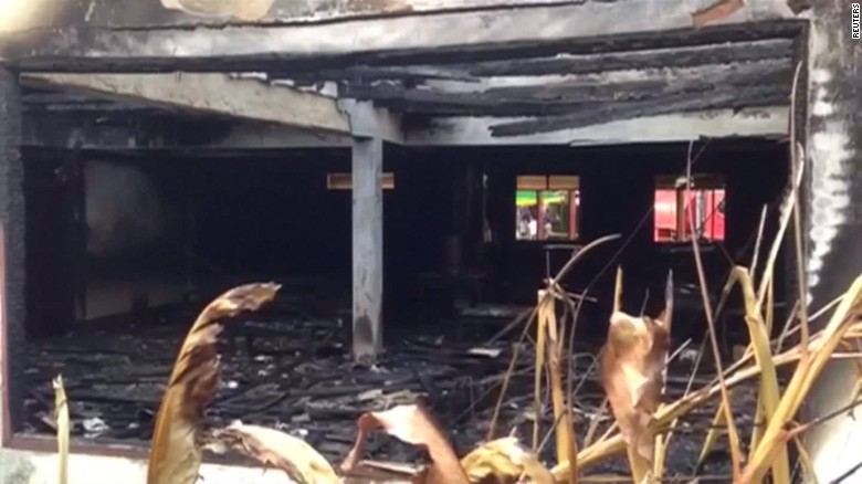 18 girls killed in school dorm fire in Thailand