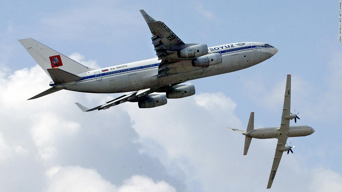 The Ilyushin Il-96 (top) first flew in 1988. Although technically still in production, only 29 have ever been built.