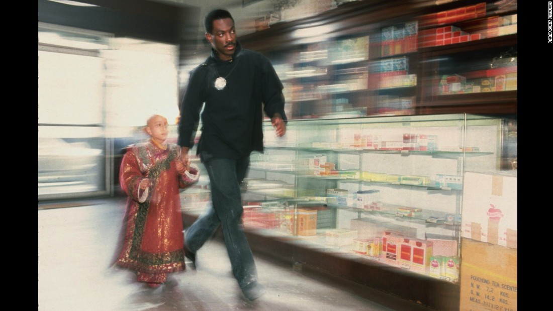 """<strong>""""The Golden Child""""</strong>: Eddie Murphy and J.L. Reate try to stay one step ahead of the bad guys in this film. <strong>(Amazon Prime, Hulu) </strong>"""