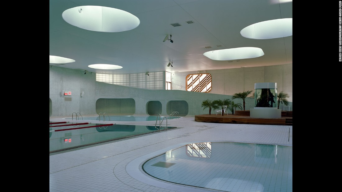 This pool incorporates Feng Shui philosophy into its design.