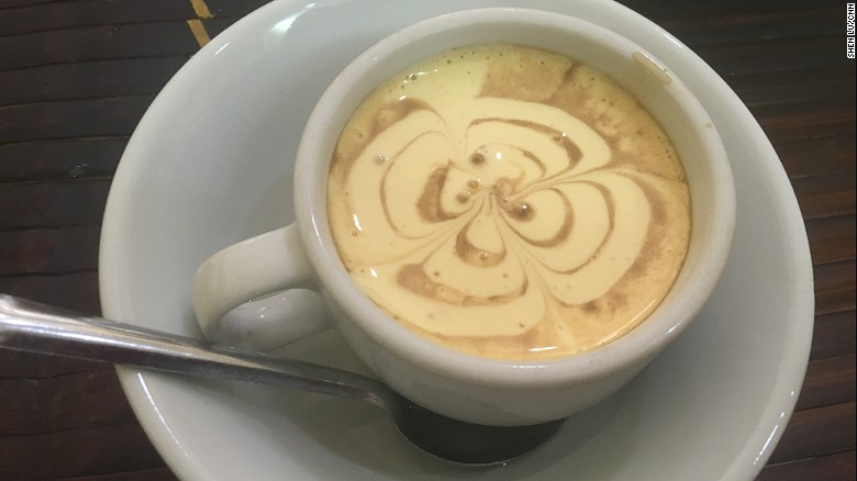 In Hanoi, it's all about egg coffee