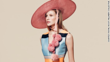Edwina Ibbotson hat, £1,620 ($2,300), available at Fenwicks.