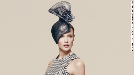 Philip Treacy hat, £1,485 ($2,100), available at Fenwicks.