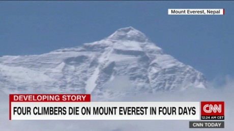 Four die on Mount Everest