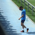 Cristiano Ronaldo injured training