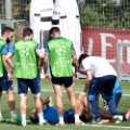 Cristiano Ronaldo injured training 2
