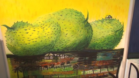 cnnee pkg jose manuel rodriguez la artista cubana flora fong _00003307