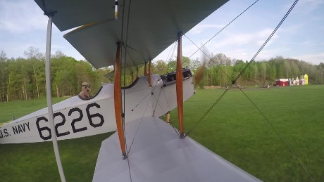 100-year-old plane takes flight