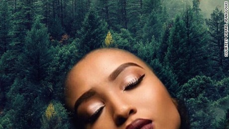 Artist turns black women's hair into ethereal forests