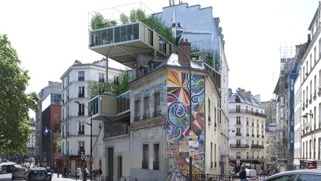 すごい形の建築物