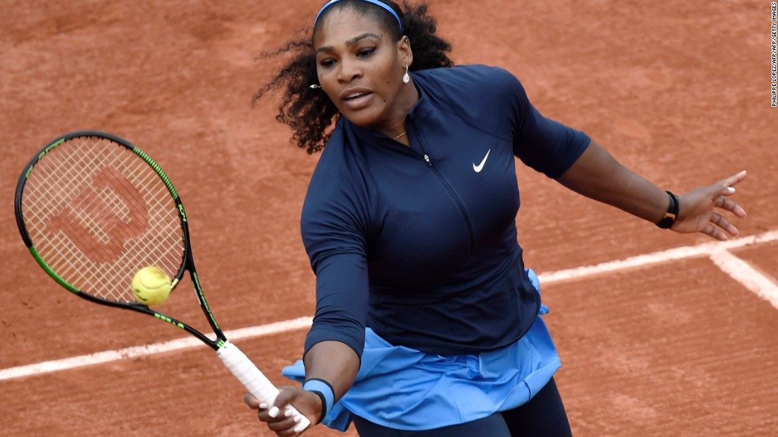 Already a strong favorite at the French Open, their defeats make Serena Williams an even stronger favorite. Williams began by routing Magdalena Rybarikova 6-2 6-0 in 42 minutes.